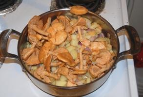 Грибочки и картошка