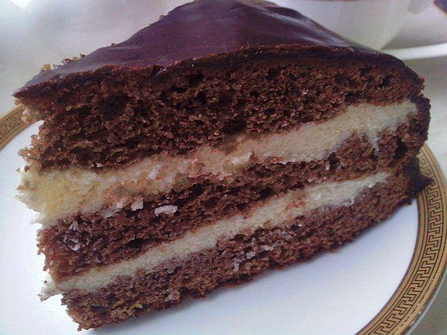 Торт птичье молоко шоколадное рецепт с фото пошагово