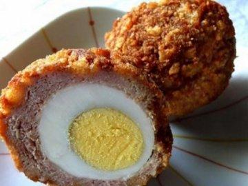 Закуска из яйца