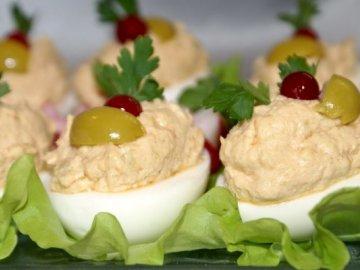 Рецепт фаршированных яиц