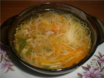 как приготовить вермишелевый суп