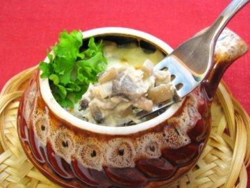 жюльен из грибов с курицей рецепт