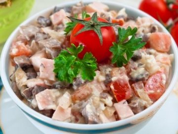рецептуры салатов