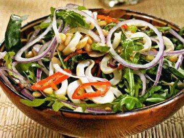 острые салаты