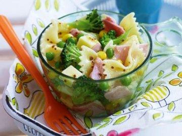 Салат с одних вареных овощей