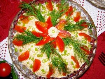 рецепты салатов с фото лучшие