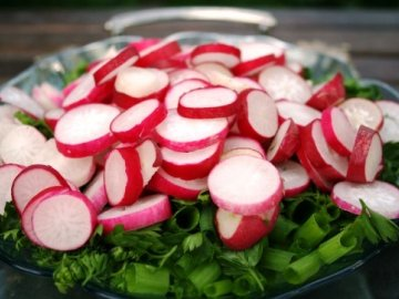 рецепт салата из редиски