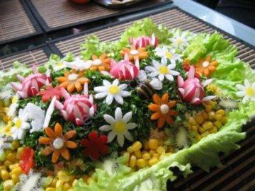 интересный салат рецепт с фото