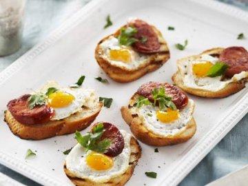 рецепт с перепелиными яйцами с фото