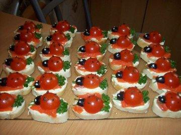 красивые бутерброды