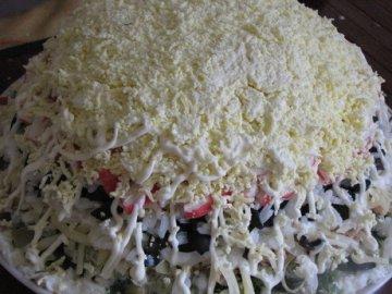 салат прага с курицей рецепт с фото