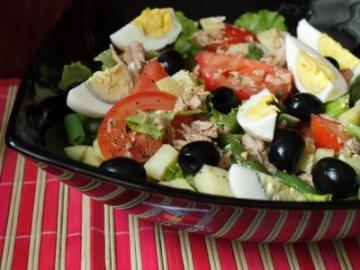 салат с тунцом с фото