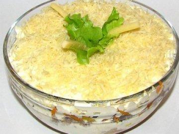 блюда еврейской кухни, салат из рыбы