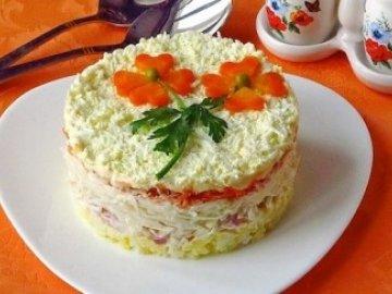 Салат слоёный