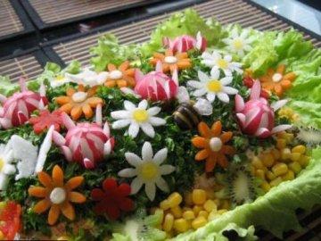 вкусные и красивые салаты