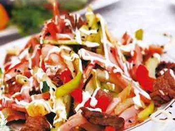 рецепты салатов быстро и вкусно