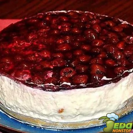 Торт суфле с вишней рецепт пошагово