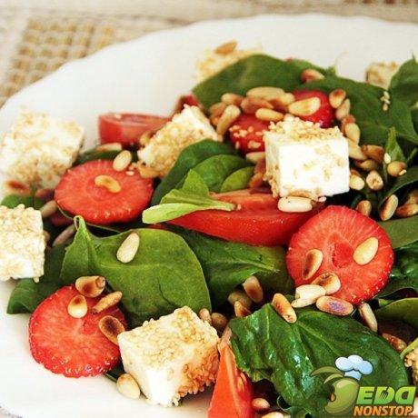 салат с бальзамическим уксусом
