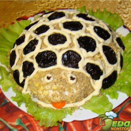 Салат черепаха с фото