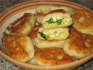 картофельная начинка для пирожков