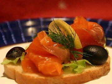 Веселый бутерброд – кулинарный рецепт