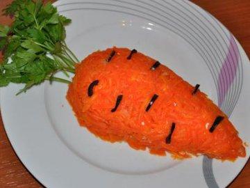 салат морковка