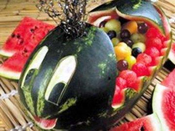 салаты из фруктов
