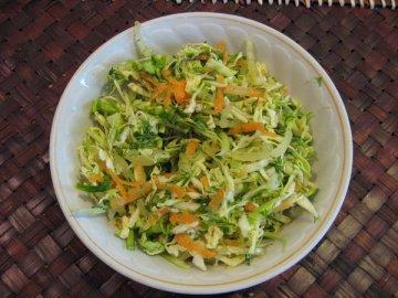 салат из капусты с морковкой
