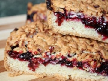 Бабушкин рецепт пирога с вареньем