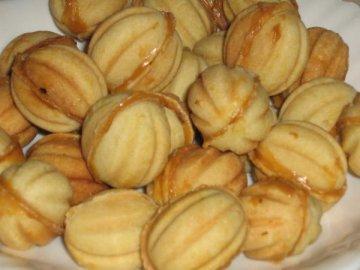 рецепт печенья орешки