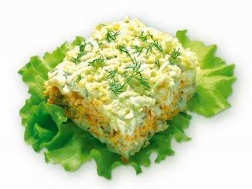 рецепты салатов из рыбы