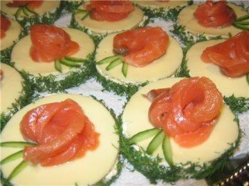 рецепты праздничных бутербродов с фотографиями