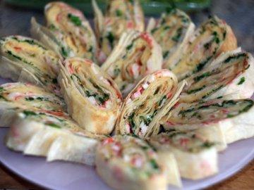 рецепты закусок из лаваша