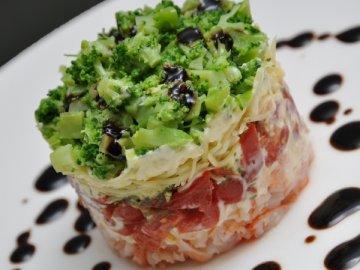 Слоёный салат