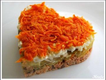рецепты салатов из моркови