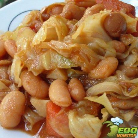 фасоль в томатном соусе салат