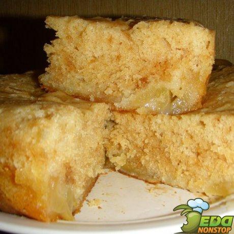 пирог со сметаной в мультиварке