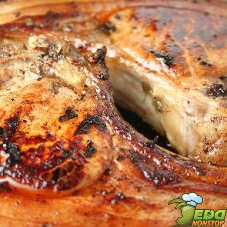 как приготовить мясо на косточке в духовке