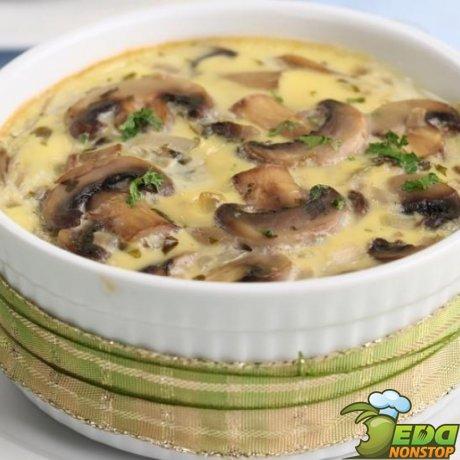 жульен с мясом и грибами